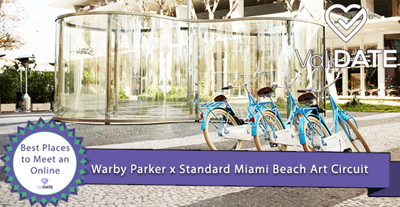 Warby Parker x Standard Miami Beach Art Circuit