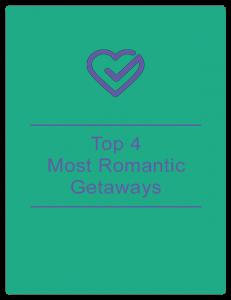 Top 4 most romantic getaways